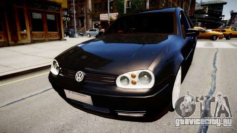 Volkwagen Golf Flash для GTA 4