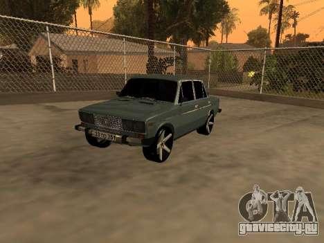 VAZ 2106 Armenian для GTA San Andreas вид слева
