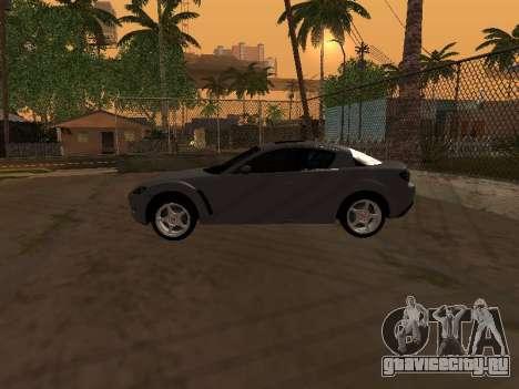 Mazda RX-8 для GTA San Andreas салон