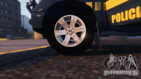 Nissan Frontier PRF для GTA 5 вид справа