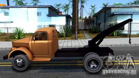 ГАЗ-51 Эвакуатор для GTA San Andreas вид слева