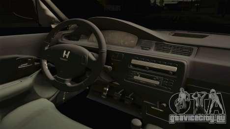 Honda Civic 1.6 iES для GTA San Andreas вид изнутри