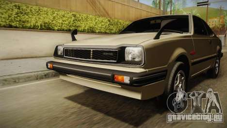 Honda Prelude 1980 для GTA San Andreas вид сбоку