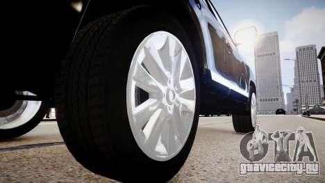 Toyota Land Cruiser 200 для GTA 4 вид сзади