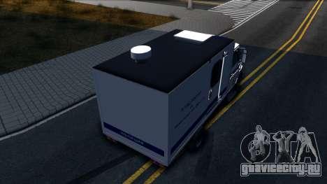 ЗИЛ 5301 Бычок Автозак для GTA San Andreas вид сзади