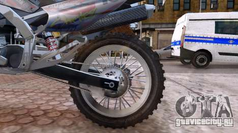 GTA V Sanchez Mod для GTA 4 вид сзади