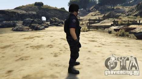 LAPD SWAT Ped для GTA 5 второй скриншот
