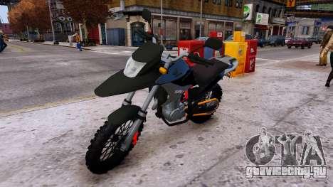 XRE 300 для GTA 4 вид справа