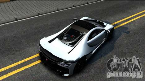 GTA Spano 2015 для GTA San Andreas вид сзади