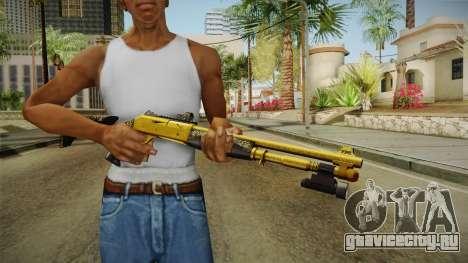 Killing Floor Combat Shotgun Gold для GTA San Andreas