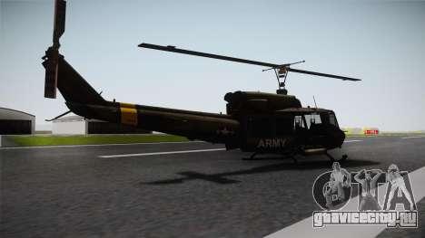 Bell UH-1N для GTA San Andreas вид слева