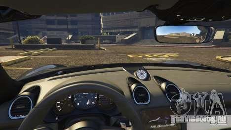 Porsche 718 Boxster S для GTA 5 вид справа