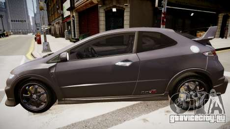 Honda Civic Type R Mugen '2010 v1.5 для GTA 4 вид слева