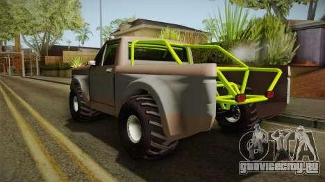 Sandy Racer v.1.5 для GTA San Andreas вид сзади слева