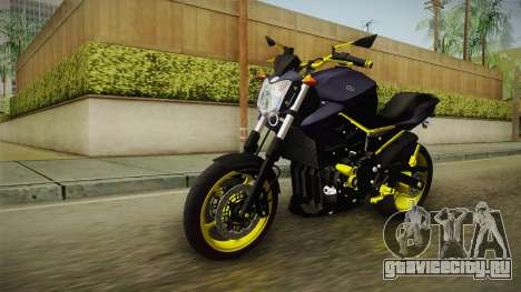 Yamaha XJ6 для GTA San Andreas