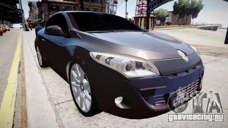 Renault Megane Coupe для GTA 4