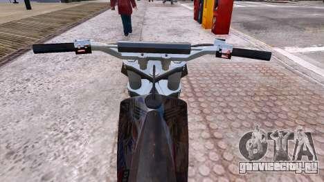 GTA V Sanchez Mod для GTA 4 вид изнутри