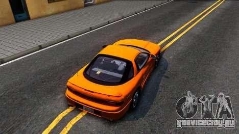 Mistubishi 3000GT 1992 для GTA San Andreas вид сзади
