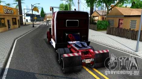 Realistic Linerunner для GTA San Andreas вид сзади слева