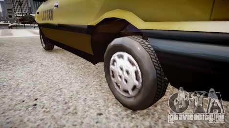 FSO Polonez TAXI для GTA 4 вид сзади