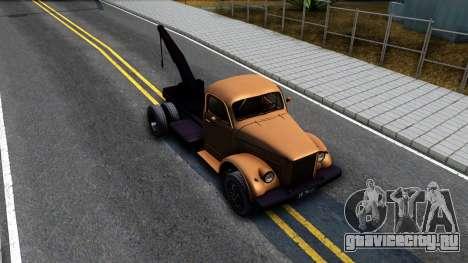 ГАЗ-51 Эвакуатор для GTA San Andreas вид справа