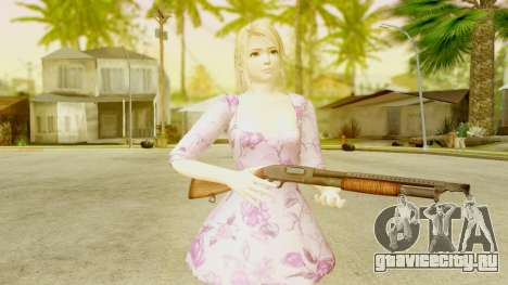 Dead Or Alive 5: LR - Marie Rose Casual Dress для GTA San Andreas третий скриншот