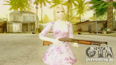 Dead Or Alive 5: LR - Marie Rose Casual Dress для GTA San Andreas