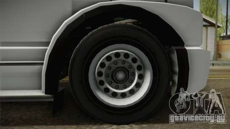 GTA 5 Brute Utility Truck для GTA San Andreas вид сзади