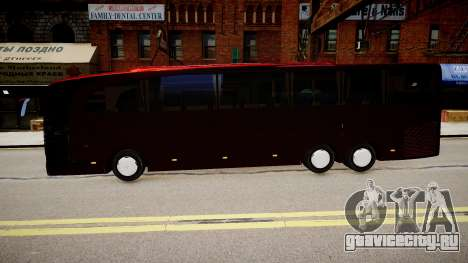 Mercedes-Benz Travego для GTA 4 вид слева