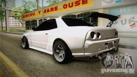 GTA 5 Annis Elegy Retro Custom для GTA San Andreas вид слева