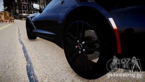 Chevrolet Corvette C7 для GTA 4