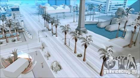 Новый зимний мод для GTA San Andreas второй скриншот