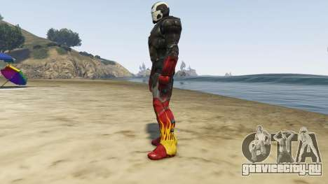 Iron Man Hot Rod для GTA 5