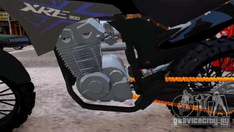 XRE 300 для GTA 4 вид изнутри