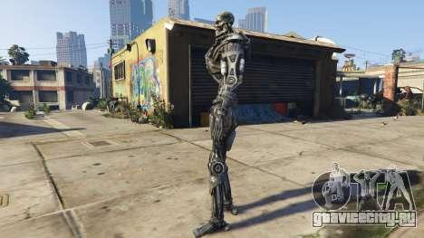 Terminator T-600 1.0 для GTA 5 второй скриншот