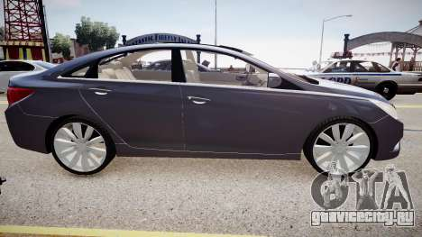 Hyundai Sonata v2 2011 для GTA 4 вид слева