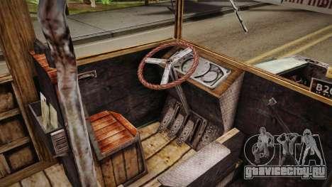 Автобус Ктулху для GTA San Andreas вид изнутри
