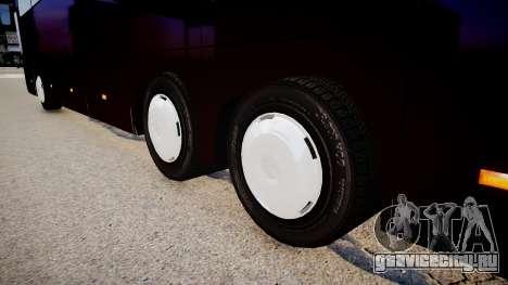 Mercedes-Benz Travego для GTA 4 вид сзади слева