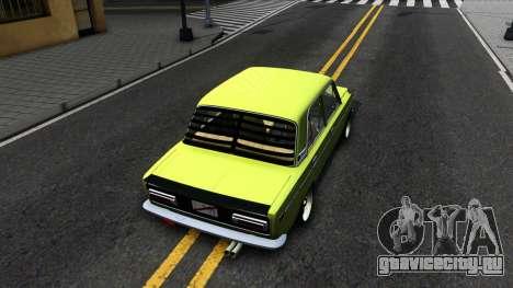 BАЗ 2106 для GTA San Andreas вид сзади