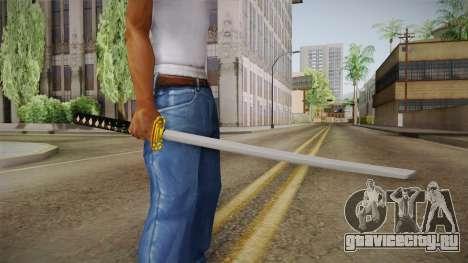 High Poly Katana для GTA San Andreas