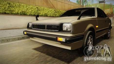 Honda Prelude 1980 для GTA San Andreas вид сверху