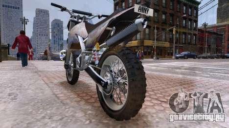 GTA V Sanchez Mod для GTA 4 вид сзади слева