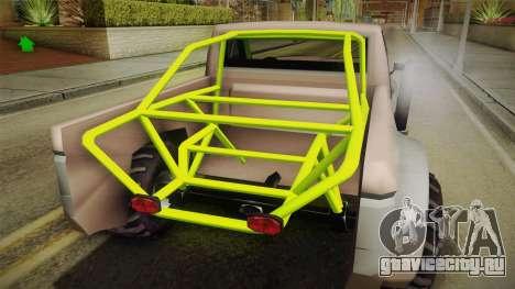 Sandy Racer v.1.5 для GTA San Andreas вид изнутри