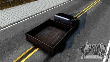 ГАЗ-ММ 1940 для GTA San Andreas вид сзади