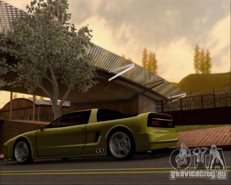 Infernus Hard Stunt для GTA San Andreas вид слева