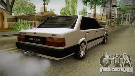 Audi 80 CD для GTA San Andreas вид сзади слева