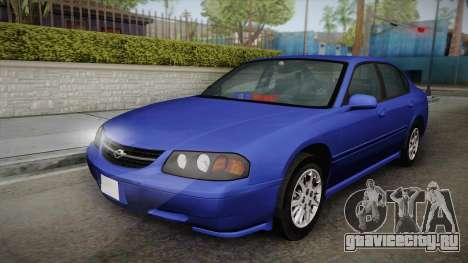 Chevrolet Impala 2004 Detective Unmarked для GTA San Andreas