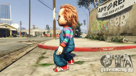 Chucky для GTA 5 второй скриншот