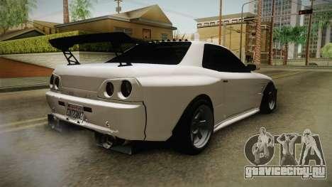 GTA 5 Annis Elegy Retro Custom для GTA San Andreas вид сзади слева