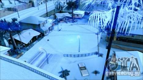 Новый зимний мод для GTA San Andreas седьмой скриншот